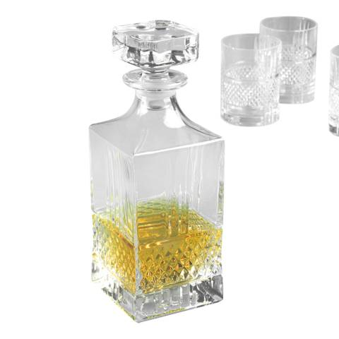 RCR Crystal Brillante Whiskey Decanter, 850ml