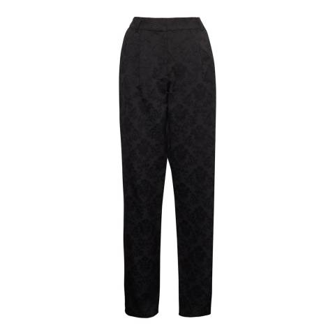 French Connection Black Jane Suiting Relaxed Trousers
