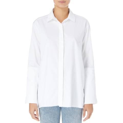White Paper White Patient Zero Cotton Shirt