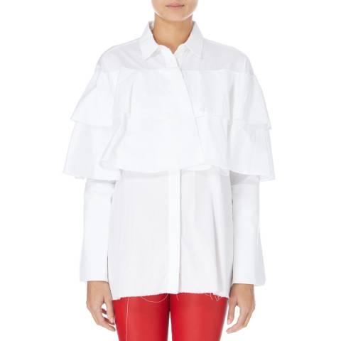 White Paper White Poppins Cotton Shirt