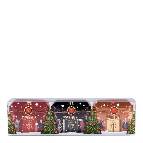 Maxim's de Paris Christmas Design Set of Small Houses