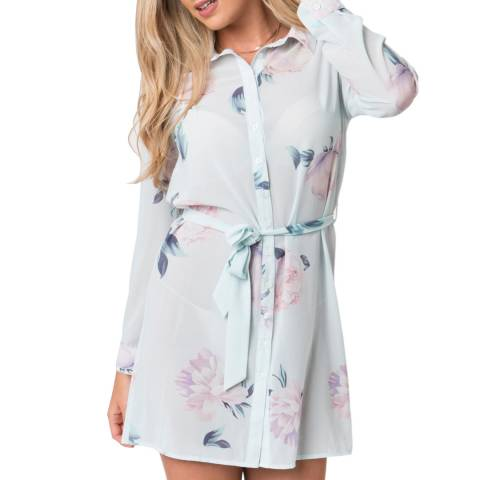 Pia Rossini Blue Dahlia Tunic