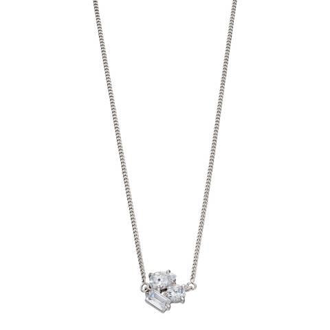 Fiorelli Silver CZ Choker Necklace