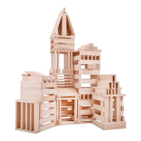 Planks2Play 200 Wooden Planks