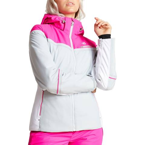 Dare2B Grey/Pink Icecap Jacket