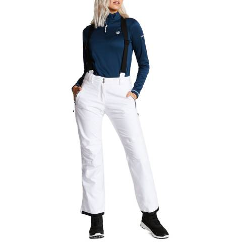 Dare2B White Effused Insulated Pants