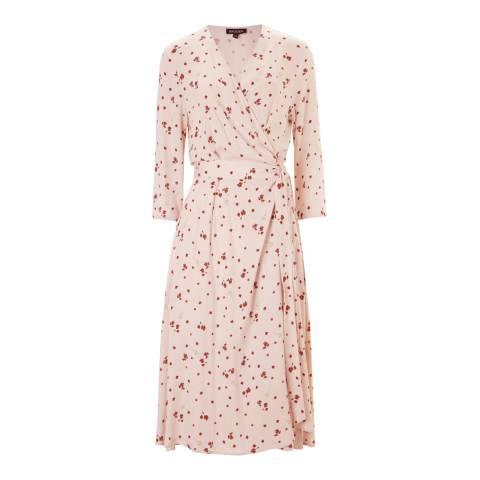 Baukjen Blush Print Adele Wrap Dress