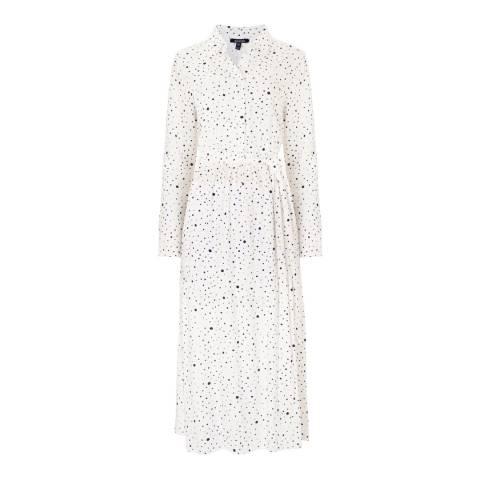 Baukjen White & Black Polka Mia Shirt Dress
