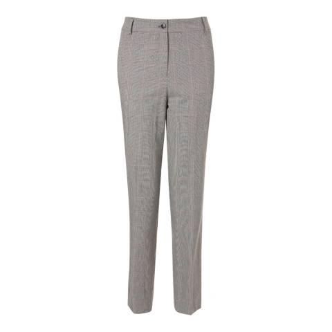 Baukjen Grey Check Quinn Trousers