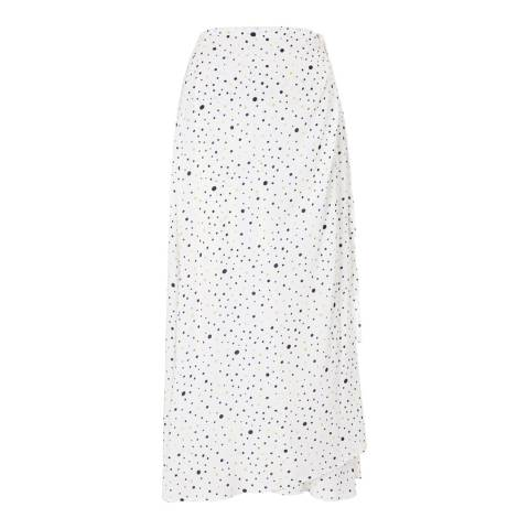 Baukjen White & Black Marigold Mia Wrap Skirt