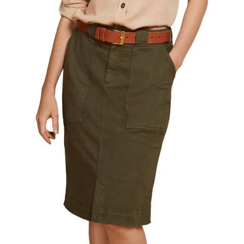 Baukjen Khaki Mahlia Skirt