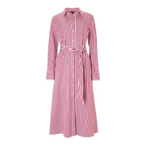 Baukjen Red & White Stripe Madeline Dress