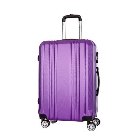 Platinium Violet Avila 8 Wheel Suitcase 66cm