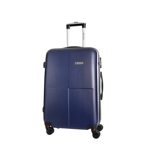 Platinium Navy Homewood 8 Wheel Suitcase 56cm