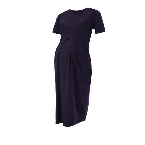 Isabella Oliver Classic Navy Catherine Maternity Dress