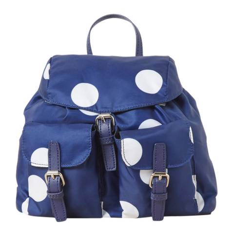 French Connection Blue Mini Spot Backpack