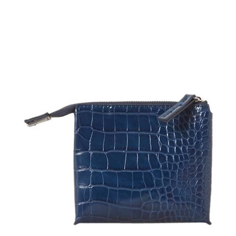 French Connection Deep Blue Lea Zip Wallet