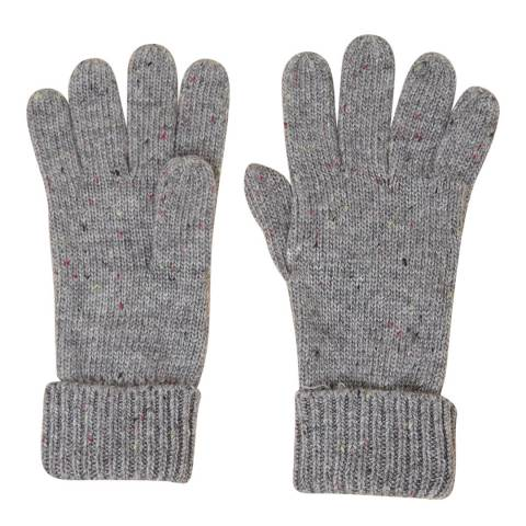 French Connection Grey Speckle Gloves