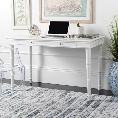 Safavieh Nomade Bamboo Writing Desk, White