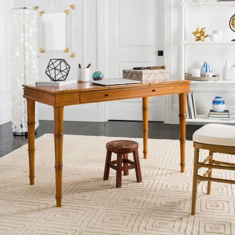 Safavieh Nomade Bamboo Writing Desk, Brown