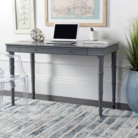 Safavieh Nomade Bamboo Writing Desk, Grey