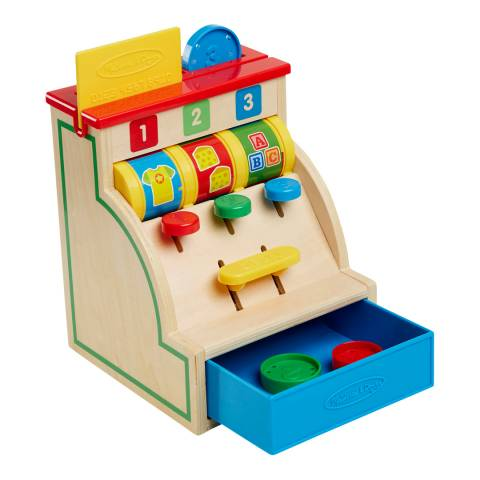 Melissa and Doug Spin & Swipe Cash Register