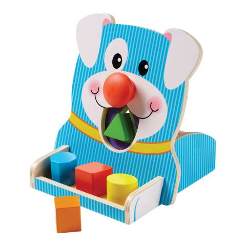 Melissa and Doug First Play Spin & Feed Shape Sorter