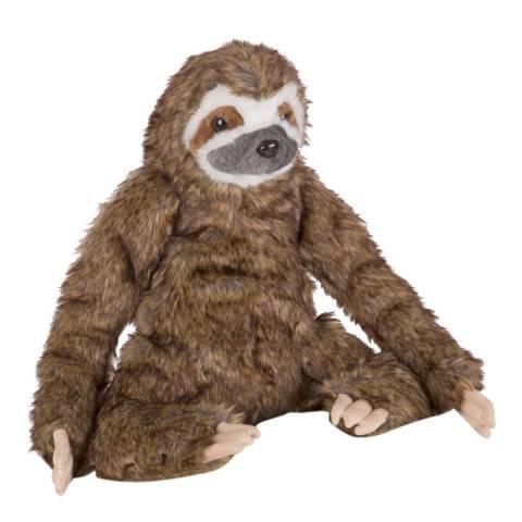 Melissa and Doug Lifelike Plush Sloth