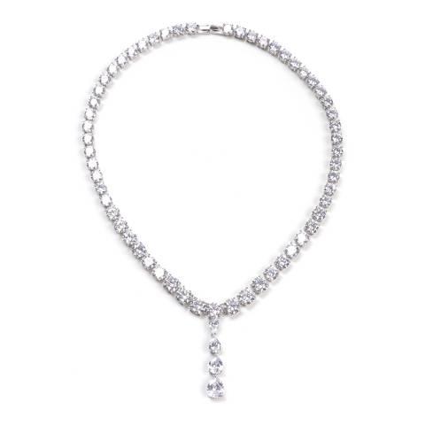 Amrita Singh Silver Drop Necklace