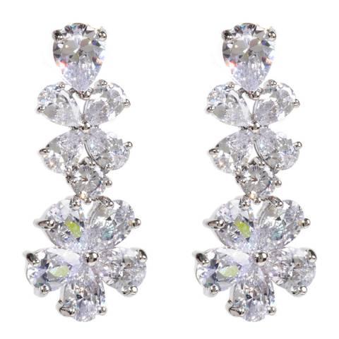 Amrita Singh Silver Flower Earrings