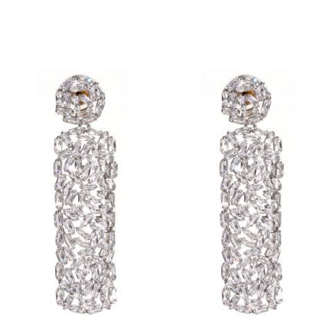 Amrita Singh Silver Drop Earrings