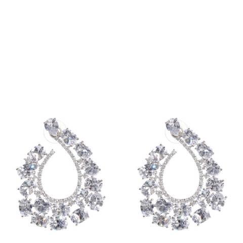 Amrita Singh Silver Hook Earrings