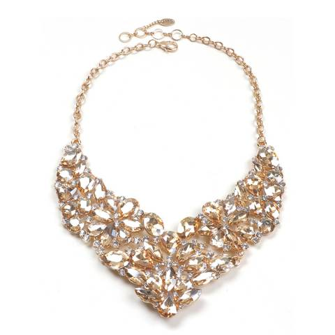 Amrita Singh Citrine Bib Necklace