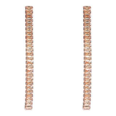 Amrita Singh Citrine Linear Earrings