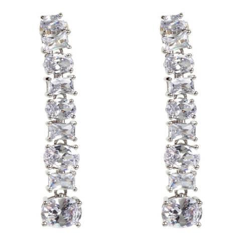 Amrita Singh Silver Linear Earrings