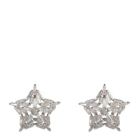Amrita Singh Silver Star Earrings