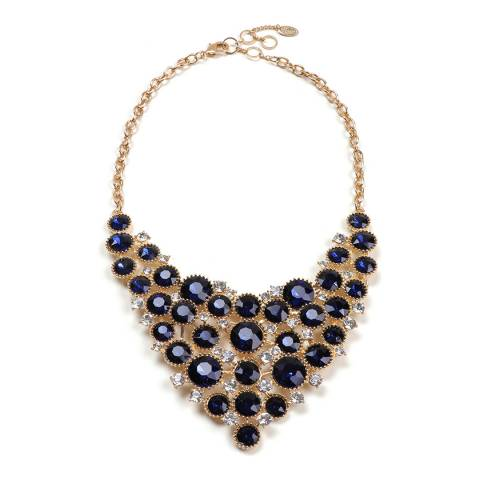 Amrita Singh Blue Bib Necklace