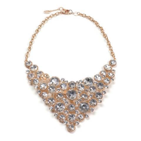 Amrita Singh Gold Bib Necklace