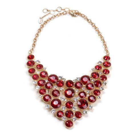 Amrita Singh Ruby Bib Necklace
