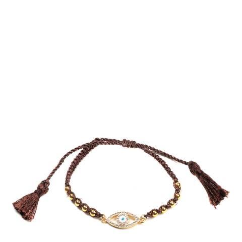 Amrita Singh Gold Evil Eye Gold Bracelet