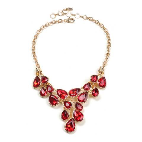 Amrita Singh Ruby Cascading Teardrop Necklace