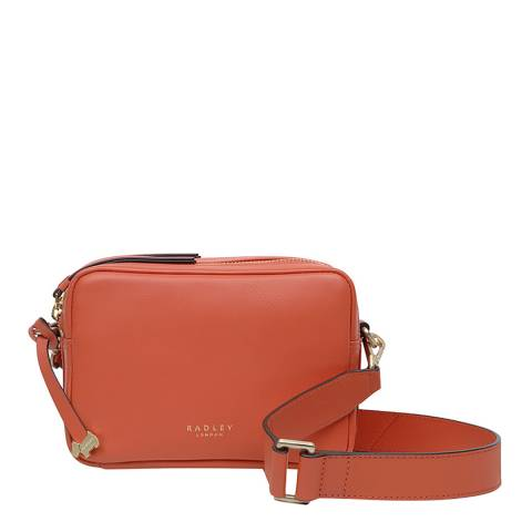 Radley Orange Alba Place Zip around Camera Bag