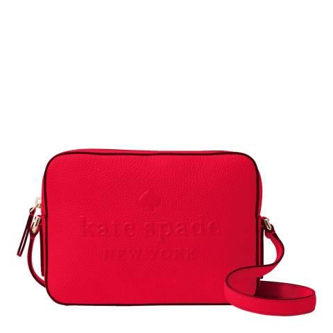 Kate Spade Chilli Sienne Logo Camera Bag