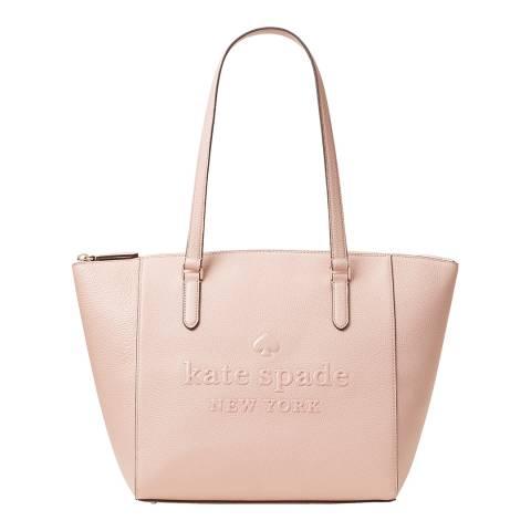 Kate Spade Blush Sienne Logo Tote Bag