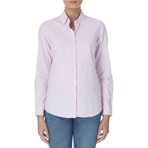 Crew Clothing Light Pink Oxford Shirt