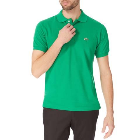 Lacoste Green Classic Cotton Polo Shirt