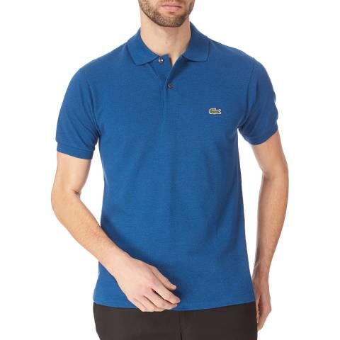 Lacoste Blue Marl Classic Cotton Polo Shirt