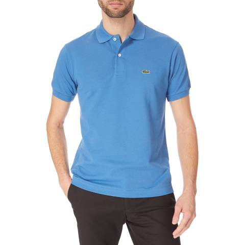 Lacoste Airforce Blue Classic Cotton Polo Shirt