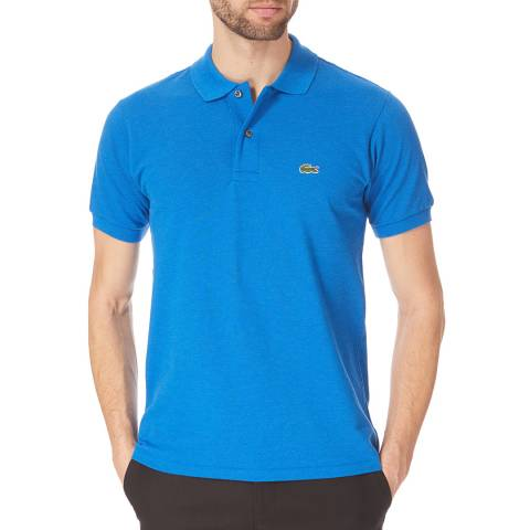 Lacoste Cobalt Classic Cotton Polo Shirt