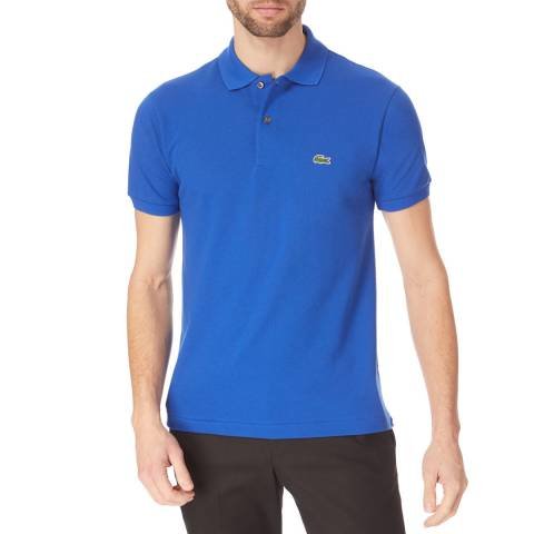 Lacoste Electric Blue Classic Cotton Polo Shirt